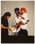 "Tupac Shakurs Personal ""Poetic Justice"" Original Photograph with Janet Jackson"
