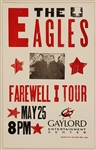 Eagles Farewell I Tour Original 2003 Concert Poster