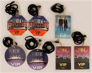 Fleetwood Mac Backstage V.I.P. Laminate Collection From The Larry Vigon Collection