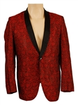 "Tommy Bolins First Band ""Patch of Blue""1965 Stage Worn Red and Black Jacket"