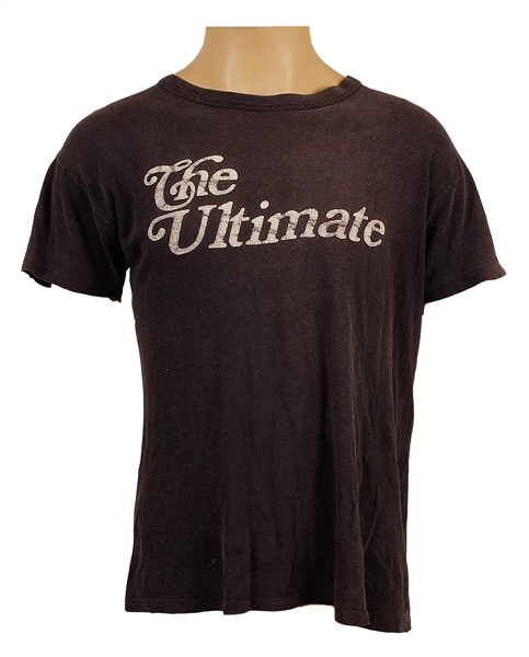 "Tommy Bolins Stage Worn ""The Ultimate"" T-Shirt"