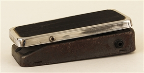 Tommy Bolins Stage Used Wah-Wah Guitar Peddle