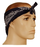 "Tupac Shakur Owned & Worn Blue Bandana ""Do-Rag"""