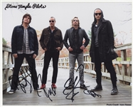 Stone Temple Pilots Signed Photograph