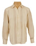Prince Owned & Worn  Christian Dior Pleated White Shirt