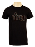 "Ringo Starr Stage Worn ""Ringo"" Black T-Shirt"