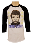 Ringo Starr Stage Worn Baseball Style Picture Shirt