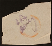 Elvis Presley Inscribed Autograph
