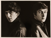 "Beatles Original ""Attic Session"" Original Astrid Kirchherr Signed Photograph."