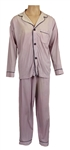 Elvis Presley Owned & Worn Light Blue Munsingwear Pajamas
