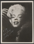Marilyn Monroe Secretarial Signed & Inscribed Original Photograph