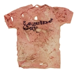 "Kesha ""New Years Eve With Ryan Seacrest"" Appearance Worn ""Legalize Gay"" Distressed T-Shirt"