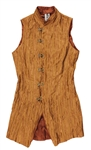 Prince Owned & Worn Long Waisted Copper Vest