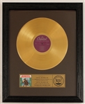 """The Beach Boys Christmas Album"" Original RIAA LP Record Album Award"
