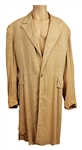 "George Harrison Traveling Wilburys ""Handle with Care"" Music Video Worn Long Raw Silk Coat"