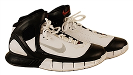 Eminem Stage Worn Nike White and Black High Top Sneakers