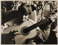 "John Lennon ""57 Green Street"" Original Astrid Kirchherr Signed and Stamped Photograph"