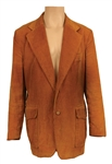 James Brown Owned & Worn Light Brown Corduroy Jacket