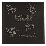"Eagles Signed ""The Long Run"" Album with Original 1979 Concert Laminate"