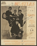 Beatles Signed 1963 Royal Hall Harrogate Concert Program Authenticated By Frank Caiazzo