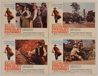 "Elvis Presley Original ""Charro"" Movie Theater Cards (8)"