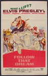 "Elvis Presley ""Follow That Dream"" Original Movie Poster"