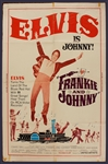 "Elvis Presley ""Frankie and Johnny"" Original Movie Poster"