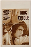 "Elvis Presley ""King Creole"" Original Movie Poster"