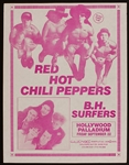 Red Hot Chili Peppers Very Early Original Concert Flyers (3)