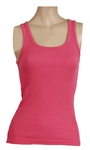 Britney Spears Owned & Worn Pink Tank Top