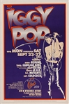 Iggy Pop Signed Artrock Limited Edition Original Poster