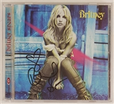 Britney Spears Signed Self-Titled C.D.