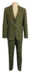 James Brown Owned & Worn Two-Piece Green Suit