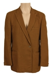 James Brown Owned & Worn Light Brown Jacket