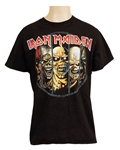 Justin Bieber Owned and Worn Iron Maiden T-Shirt