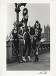 KISS Original Steve Emberton Signed Photograph