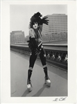 KISS Paul Stanley Original Steve Emberton Signed Photograph