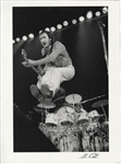 The Who Pete Townshend Original Steve Emberton Signed Photograph