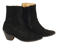 Chubby Checker Stage Worn Ankle Boots