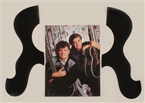 Everly Brothers 25 Year Reunion Concert Tour Stage Used and Signed Archive