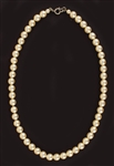 Marilyn Monroes Owned and Worn Faux Pearl Choker