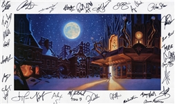 Trans-Siberian Orchestra and Greg Hildebrandt Signed Original 2005 Program Cover Artwork