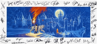 Trans-Siberian Orchestra and Greg Hildebrandt Signed Original 2006 Program Cover Artwork