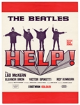"The Beatles ""Help!"" 1965 Royal World Premiere Program"