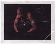 Tupac Shakur Signed & Inscribed Original Polaroid Photograph to the Mother of His Unborn Child