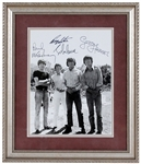 "The Beatles Signed ""Help!"" 1964 Bahamas Original Photograph Authenticated by Frank Caiazzo"