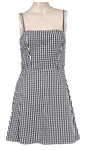 Taylor Swift Country Music Hall of Fame/Taylor Swift Education Center Worn Black & White Check Dress