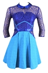 "Taylor Swift ""Entertainment Tonight"" Screen Worn Blue Lace Vision Dress"