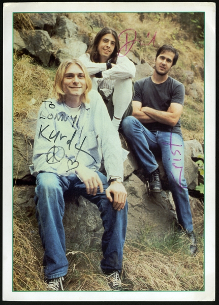 Nirvana Signed Photograph