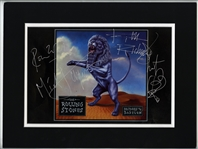 "Rolling Stones Signed ""Bridges To Babylon"" Album Cover Photograph"